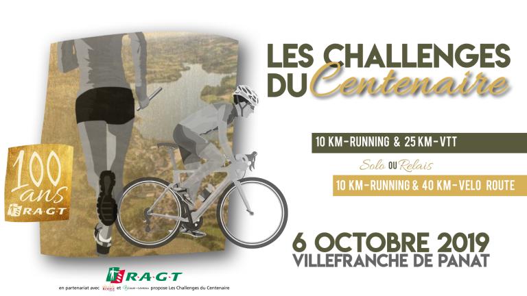 Les challenges du Centenaire , le dimanche 6 octobre à Villefranche de Panat !