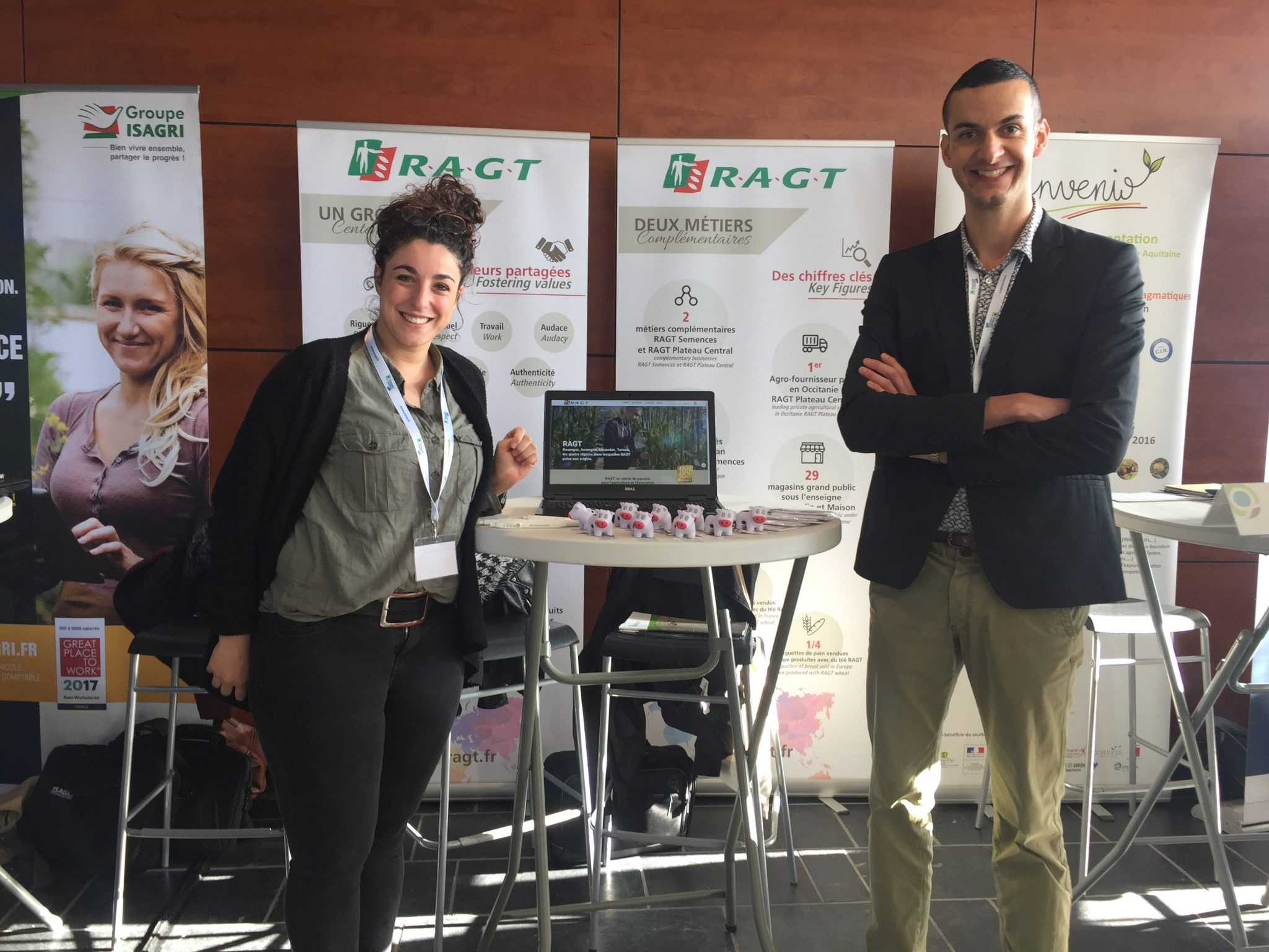 RAGT present at the ENSAT exhibition in Toulouse