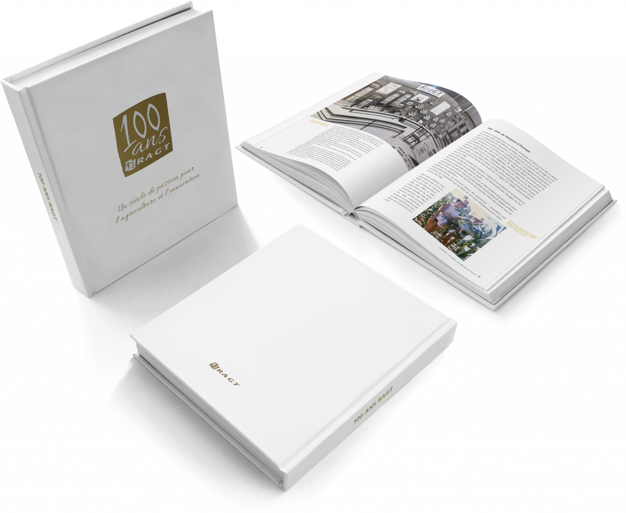Book on the 100 years of the RAGT Group