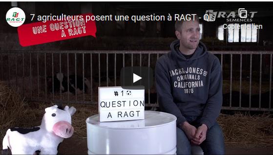 Découvrez la websérie RAGT Semences :  «7 agriculteurs posent une question à RAGT»