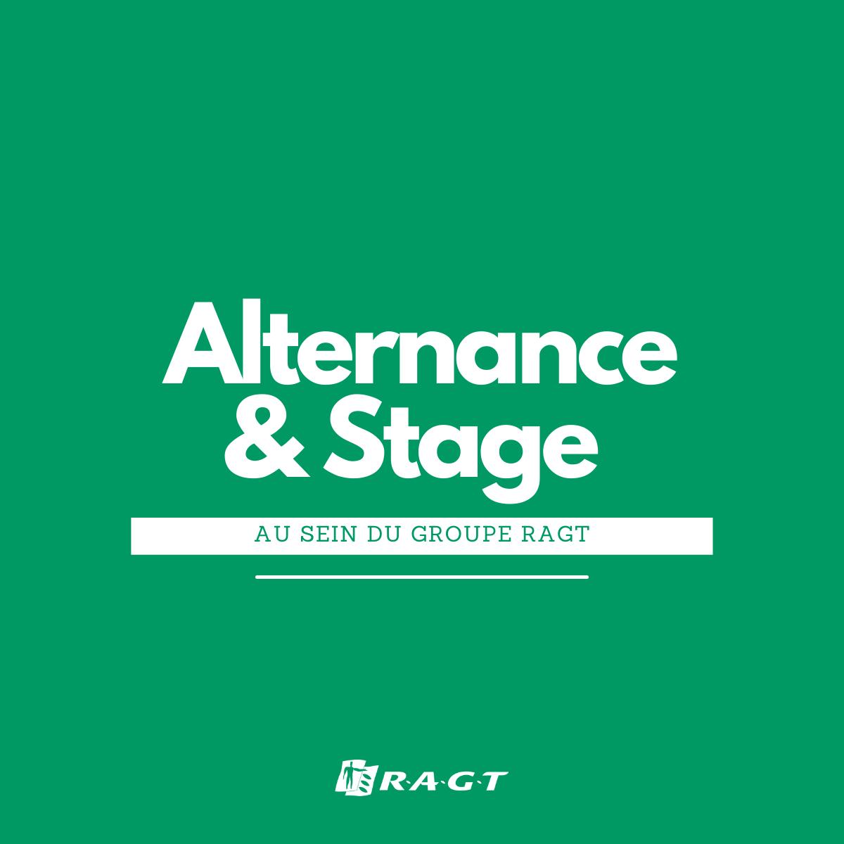RAGT lance sa campagne Alternance et Stage