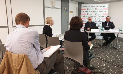 Conférence de presse - Claude Tabel et Laurent Guerreiro - Annonce officielle du Centenaire RAGT